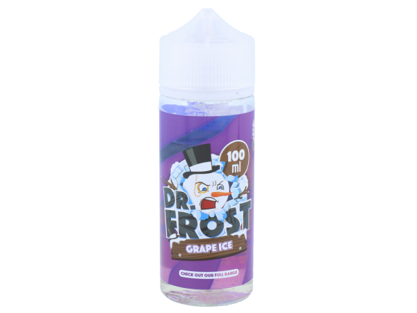 Dr. Frost - Polar Ice Vapes - Grape Ice - 100ml 0mg/ml
